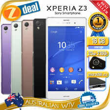 Sony Xperia Z3 Android Quad Core Mobile Phones