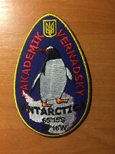 PATCH  UKRAINE - UKRAINIAN ANTARCTICA STATION - ORIGINAL!