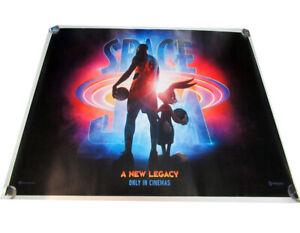 Space Jam A New Legacy movie UK quad poster ORIGINAL D/S full size LeBron V1