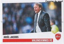 N°464 ARIEL JACOBS # BELGIQUE VALENCIENNES.FC VAFC STICKER FOOT 2014 PANINI