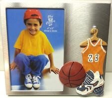 """BASKETBALL""  Picture Frame 4"" x 6"" Picture  ( NEW ) In the Box"