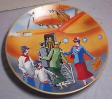 Isabella's Journey Set of 4 Collectable Plates Travel