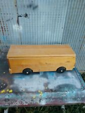 Vintage Community Playthings Wooden Bus With Top