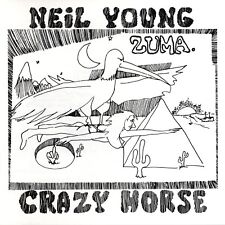 NEIL YOUNG - ZUMA  VINYL LP  9 TRACKS MAINSTREAM COUNTRY ROCK  NEW+