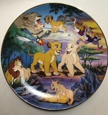 Bradford Exchange - The Lion King Plate-Friends and Companions', Pre-Owned (0214