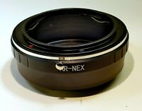 Konica AR Hexanon Lens to Sony E Camera mount adapter NEX ILCE a5100 a6300 a6500