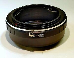 Konica AR Hexanon Lens to Sony E Camera mount adapter NEX ILCE a5100 a6300 a6500