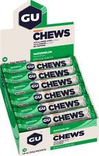 GU Energy Chews: Watermelon, Box of 18