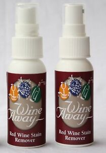 WINE AWAY Red Wine Stain Removal 2 x 60ml - Travelling Duo