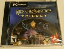 Midnight Mysteries Trilogy 3 Epic Hidden Object Games 2018 PC DVD-ROM NEW SEALED
