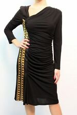 ABITO CLASS ROBERTO CAVALLI Платье WOMAN, 12A CD 472 NERO MIS.46 AA 13 nva