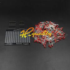 Arduino LOL Shield Matrix Lots of LEDs Charlieplexed Display DIY Red LED new