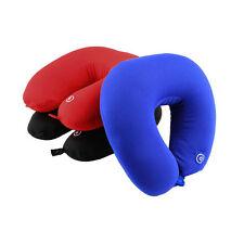 U Shape Travel Pillow Neck Massage Microbead Battery Operated Vibrating WP