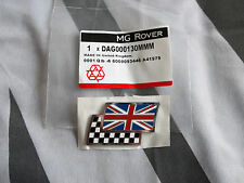 MGZR MG ZR Twin Flag Badge Genuine OEM DAG000130MMM mgmanialtd.com