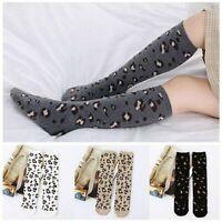 Leopard Kids Socks Autumn Winter Baby Girl Knee High Toddler Girls Knee Socks_