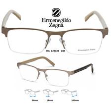 Ermenegildo Zegna EZ5023 035 Eyeglass Frames Brushed Gold Semi Rimless NEW