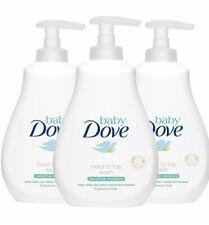 Baby Dove Head to Toe Fragrance Free Sensitive Moisture Body Wash, 3pk of 400ml