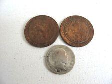 lot monnaie :  3 PIÈCES ANCIENNES PAYS BAS / NEDERLAND OLD COIN