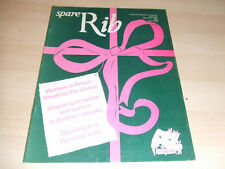 Spare Rib Women's Liberation Feminist Magazine Issue Number 137 December 1983