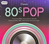 CLASSIC 80s POP - VARIOUS ARTISTS (NEW SEALED 3CD)