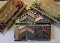 MUA LUXE Makeup HIGHLIGHTER EYESHADOW PALETTE 17 Colour Metallic Matte Glitter