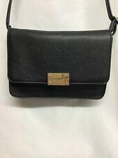 NWOT Merona Dark Brown Cross Body Shoulder Bag Purse Snap Adjustable Strap f07ed7a3679d8
