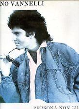 GINO VANNELLI persona non grata 12INCH 45 RPM 1987  BELGIUM