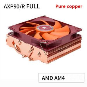 AXP90/R pure copper 4 heat pipe 47MM height CPU down AMD AM4 radiator