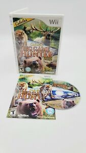 Cabela's Big Game Hunter 2012 (Nintendo Wii, 2011) With Manual