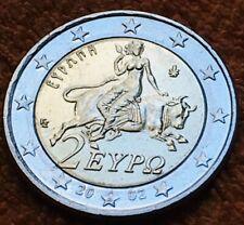 2 Euro Grece 2002 S fautée - 2 Euro Greece S Error - Rare