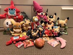 Pokémon centre plush Pikachu Poncho Mega Evolution Pokédex Exclusive Event Rare