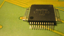 LC7565 FLT Driver for Display of Graphic   Equalizer  QFP      SANYO  1pcs