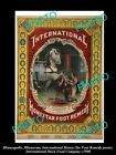 OLD LARGE PHOTO OF MINNEAPOLIS STOCK Co POSTER, HORSE MEDICINE, HONEY TAR c1900