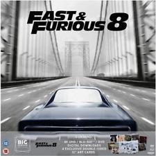 Fast And Furious 8 4K UHD Blu Ray+DVD+UV Big Sleeve Edition NEW FAST & FREE DEL
