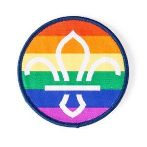 Pride Woven Badge Fun 2019 Scouts