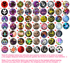 Chapa Button Badge The world end with you D+B dragon couture gatito hip snake