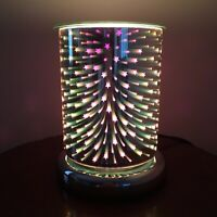 3D Cylinder Shooting Star Electric Wax Warmer/Burner& 10 Scented Melts (3126)