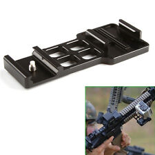For GoPro HD 2 3 3+ 4 Cantilever Picatinny Gun Rail Side Mount Airsoft Paintball