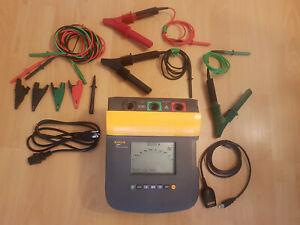 Fluke 1550C 5kV Insulation Tester MegOhmMeter, Digital