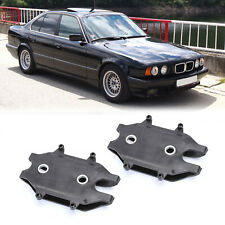 Pair 2X Front Slider Bracket for Bumper Cover For BMW E34 540i 530i 525i