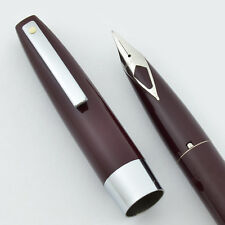 Sheaffer 330 (Imperial) Fountain Pen - Burgundy, Fine (New Old Stock, Converter)