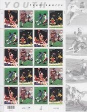 USA Mi Nr. 3309 - 3312 ** Bogen, Sport Foodball, Fußball, postfrisch, MNH