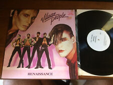 "VILLAGE PEOPLE RENAISSANCE VINYL RECORD LP 12""  TEST PRESS RARE FIND"