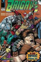 Brigade Comic 3 Cover A First Print 1993 Rob Liefeld Marat Mychaels Image