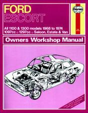 Ford Escort 1968 Car Service & Repair Manuals