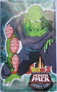 Dragon Ball Z CCG Capsule Corp Power Pack 2 Piccolo Box Factory Sealed 2002