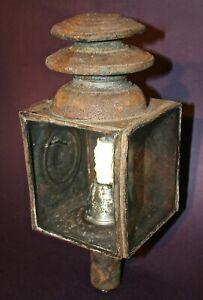 1900 ANTIQUE VINTAGE CARRIAGE WAGON RAILROAD LIGHT LAMP CANDLE PETROLEUM OIL