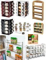 Spice Rack 2 / 3 / 4 / 5 Tier Holder Herbs Spices Jars Stand Kitchen Storage New