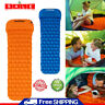 Inflatable Camping Mattress Air Mat Sleeping Pad Hiking Roll Up Bed Mat Outdoor