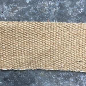 Jute Webbing 5cm Upholstery Quality For Chairs Seat Repairs DIY Sold Per Metre